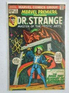 Marvel Premiere #8 featuring Dr. Strange 4.0 VG (1973)