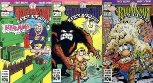 RALPH SNART ADVENTURES LOST ISSUES  1-3  with CARDS!