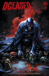 DCEASED 1 CLAYTON CRAIN VARIANT FEAST OF JUSTICE BATMAN LTD TO 1500 W/ COA NM
