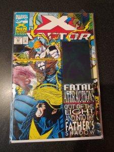 X-FACTOR #92 NEAR MINT 1993 HOLOGRAM FATAL ATTRACTIONS