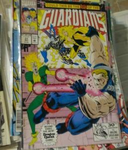 Guardians of the Galaxy # 31 1992 marvel CAPTAIN AMERICA +STAR HAWK  BADOON