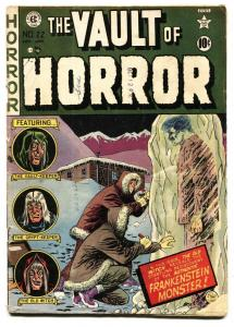 Vault of Horror #22 Frankenstein issue-pre-code horror 1952 EC