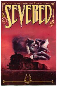 SEVERED #2, NM, Scott Snyder, 2011, more Horror in store