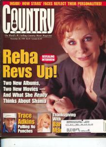 Country Weekly-Reba McEntire-Trace Adkins-Trace Adkins-Nov-1999