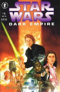 Star Wars: Dark Empire #1 VF/NM; Dark Horse | save on shipping - details inside