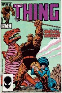 Thing #31 (1983 v1) Sharon Ventura NM