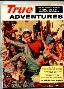 TRUE ADVENTURES-AUG-1959-PULP FICTION-RICE-CHEESECAKE-SAUNDERS-fn
