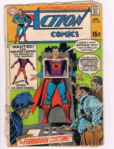 Action Comics Feat.Superman # 384 VG Bronze Age DC Comic Books Hi-Res Scans!!!!!