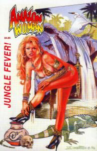 Amazon Woman: Jungle Fever #1 VF/NM; FantaCo   save on shipping - details inside