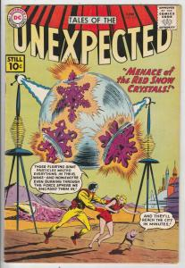 Tales of the Unexpected #62 (Jun-61) VF High-Grade Space Ranger, Cyrl