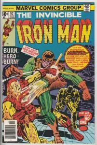Iron Man #92 (Apr-76) NM/NM- High-Grade Iron Man