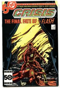 CRISIS ON INFINITE EARTHS #8 1985 DC COMICS-FLASH DEATH nm-