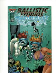 9 Comics Swimsuit Special 1 Witchblade Expatriate Impossible Sky Captain++ J344