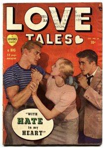 Love Tales #39 comic book 1949- Atlas / Marvel Romance comics- Love Triangle