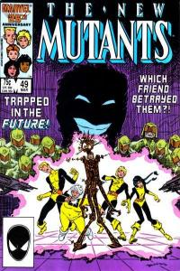 New Mutants (1983 series) #49, NM- (Stock photo)