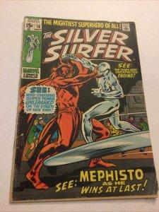 Silver Surfer 16 Gd+ Good+ 2.5 Major Spine Split Marvel Comics