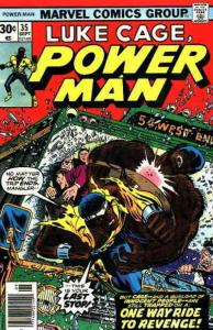 Power Man And Iron Fist #35 FN; Marvel | save on shipping - details inside