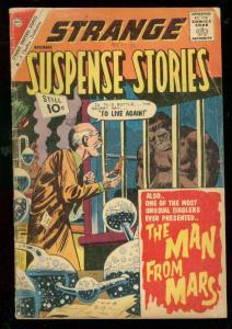 STRANGE SUSPENSE STORIES #56 1961-CHARLTON-GORILLA-MARS G
