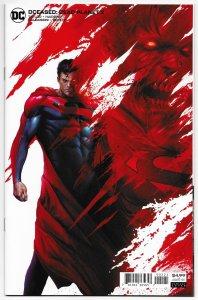 DCeased Dead Planet #2 Mattina Superman Variant (DC, 2020) NM