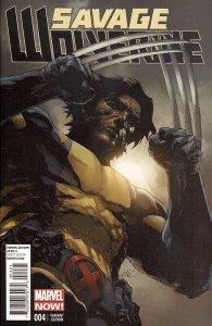 SAVAGE WOLVERINE (2013 Series) #4 VARIANT Near Mint Comics Book
