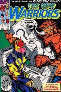 New Warriors (1990 series) #17, VF+ (Stock photo)