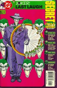 Joker: Last Laugh Secret Files and Origins #1 (ungraded) stock photo / 001