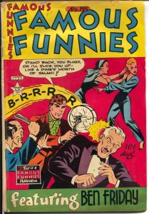 Famous Funnies #195 1951-Steve Roper-girl fight cover-Scorchy Smith-G