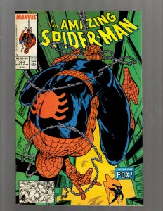 Amazing Spider-Man # 304 VF Marvel Comic Book Todd McFarlane Venom Goblin J450