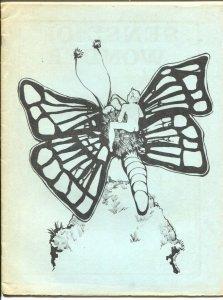 Sense of Wonder #10 1971-formerly Incognita-Jim Shooter profile-Flash Gordon-F