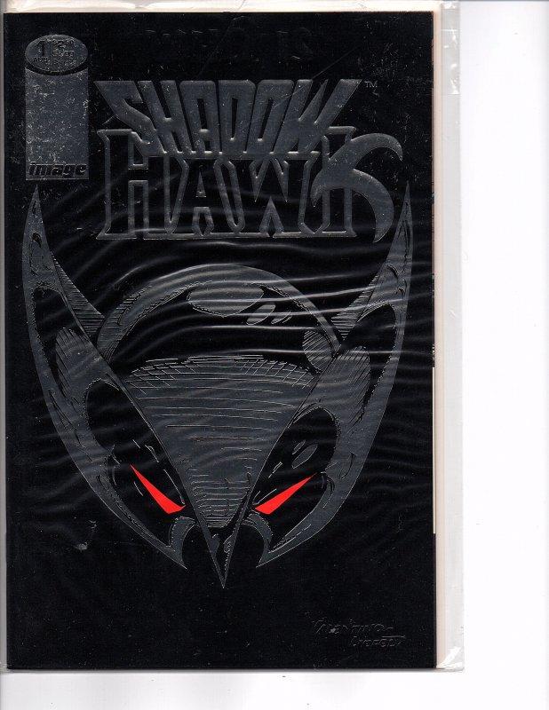 Image Comics (1992) Shadowhawk #1 Foil Cover Jim Valentino (No Coupon)