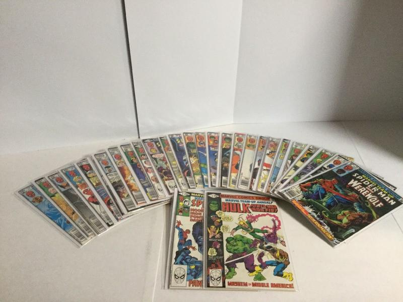 Marvel Team Up 93 94 96-119 Annual 3 4 Lot Vf-Nm Very Fine-Near Mint A41
