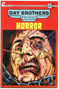 DAY BROTHERS HORROR #1, VF/NM, Caliber, Grave, Locust, 1990,more Indies in store