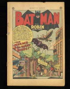 Detective Comics (1937) #171 Coverless Complete! Penguin!