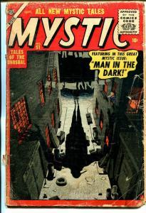 Mystic #51 1956-Atlas-horror-Grey Morrow-M. Stein-P/FR