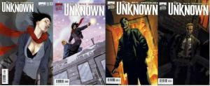 UNKNOWN (2009 BOOM) 1B-4B  COMPLETE! COMICS BOOK