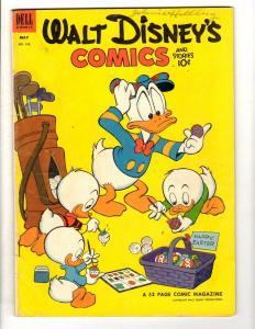 Walt Disney's Comics & Stories # 152 FN- Dell Golden Age Comic Book Mickey JL11