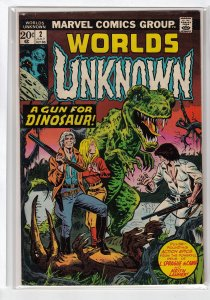 WORLDS UNKNOWN (1973 MARVEL) #2 VG/FN A05759