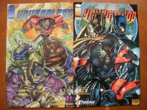 2 Near-Mint Image Extreme Studios Comic: TEAM YOUNGBLOOD #1 #2 (1993) Chap Yaep