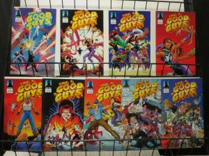 GOOD GUYS 1-9 REAL HEROES BY JIM SHOOTER