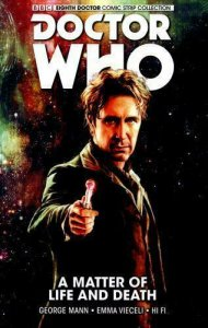 Doctor Who: The Eighth Doctor HC #1 VF/NM; Titan | save on shipping - detail