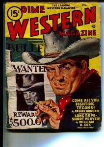 Dime Western-Pulps-12/1946-Van Cort-Frank Bonham