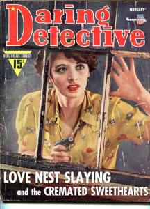DARING DETECTIVE-FEB1941-G-MURDER-RAPE-ORGIES-KIDNAP-MASSACRE-CREMATION G