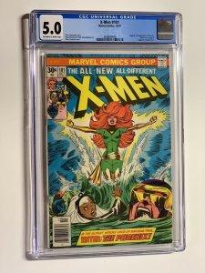uncanny X-Men 101 CGC 5.0 OWWP Marvel 1976