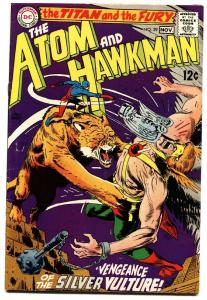 ATOM AND HAWKMAN #39 comic book 1968-DC COMICS-Joe Kubert art! FN+