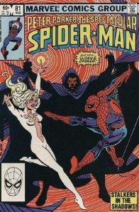 SPECTACULAR SPIDER-MAN #81, VF/NM, Cloak Dagger, 1976 1983, more in store