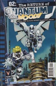 Q2: The Return of Quantum and Woody #1 FN; Valiant | save on shipping - details