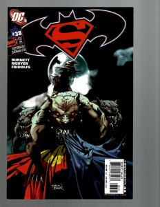 11 DC Comics Superman/Batman # 38 41 44 46 50 51 52 75 79 85 plus #1 J439