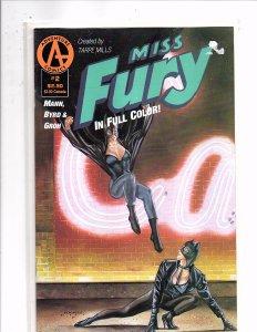 Adventure Comics Miss Fury #2