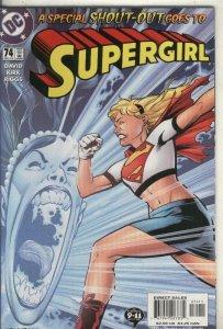 Supergirl numero 74