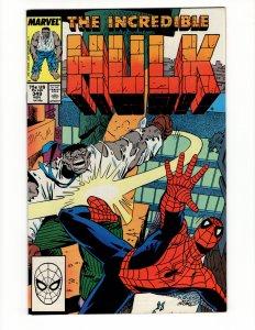 Incredible Hulk #349 (VF) ID#MBX1